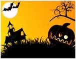 Halloween Video Templates powerpoint templates