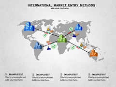International Market Entry Methods  powerpoint templates