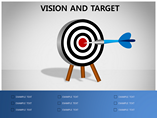 Target Charts & Data powerpoint templates
