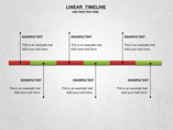 Linear Timeline Charts & Data powerpoint templates