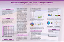 Poster Powerpoint Templates - Research Poster-Brain