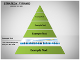 Strategy Pyramid Diagrams Charts & Data powerpoint templates