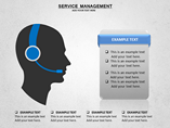 Service Management Charts & Data powerpoint templates