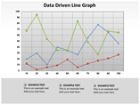 Line Graphs Charts & Data powerpoint templates
