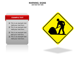 Warning Sign Charts & Data powerpoint templates