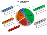 Pie Chart Bundle Charts & Data powerpoint templates