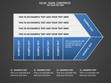 Value Chain Corporate Charts & Data powerpoint templates