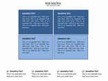 Risk Matrix Charts & Data powerpoint templates