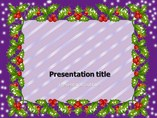 christmas leaf Templates powerpoint templates
