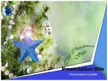Christmas Star Templates powerpoint templates