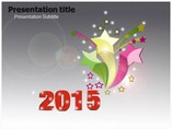 New Year 2015 Templates powerpoint templates