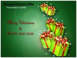 New Year and Christmas Templates powerpoint templates