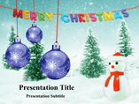 Christmas Animations powerpoint templates
