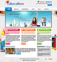 IT Web Template Web Templates powerpoint templates