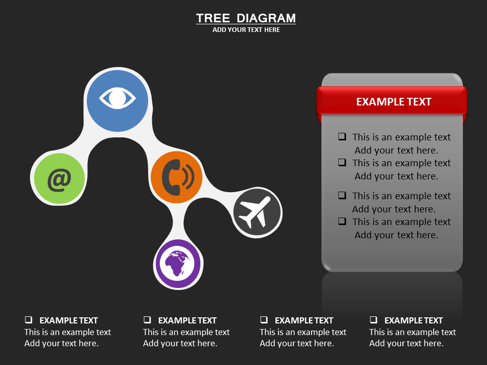 TREE DIAGRAM Charts & Data powerpoint templates