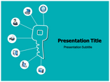 One key Solutions Business powerpoint templates