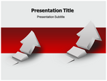 Rising 3d Arrow Business powerpoint templates