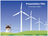 wind energy Business powerpoint templates