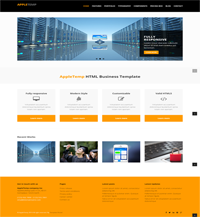 apple temp web template Web Templates powerpoint templates