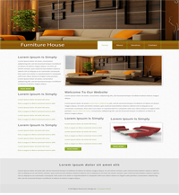 furniture house web template Web Templates powerpoint templates