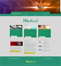 medical heart web template Web Templates powerpoint templates