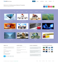 multipurpose web template Web Templates powerpoint templates