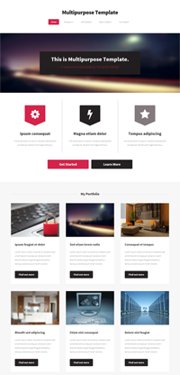 multipurpose web templates Web Templates powerpoint templates