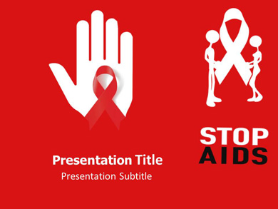 Aids1 Medical powerpoint templates