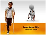 PPT Templates on  Kids With Disabilities