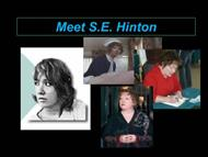 Meet S.E. Hinton  powerpoint presentation