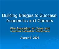 Building Bridges to Success Academics and Careers  powerpoint presentation