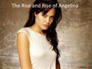 Angelina Jolie Biography (with wallpapers and images) powerpoint presentation