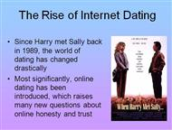 If Harry Met Sally Online.. powerpoint presentation