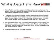 How to Improve Alexa Traffic Rank powerpoint presentation