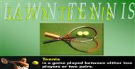 Lawn tennis powerpoint presentation