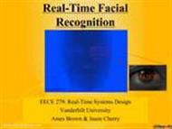 Real Time Face Recognition powerpoint presentation