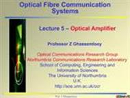 Optical Fibre Communication Systems  powerpoint presentation