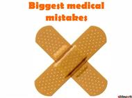 Biggest Medical Mistakes Ever powerpoint presentation