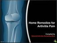 Home Remedies for Arthritis Pain powerpoint presentation