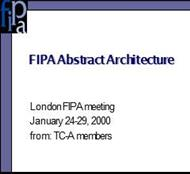 FIPA Abstract Architecture powerpoint presentation