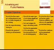Advertising andPublic Relations CHAPTER powerpoint presentation