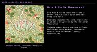Arts & Crafts Movement powerpoint presentation