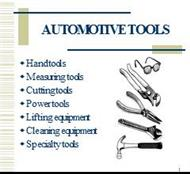 AUTOMOTIVE TOOLS powerpoint presentation