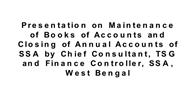 Presentationon Maintenance of Books of Accounts and Closing of Annual Accounts of powerpoint presentation