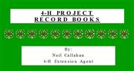 4-H PROJECT RECORD BOOKS powerpoint presentation