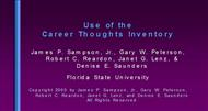 Use of the Career Thoughts Inventory powerpoint presentation