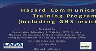 Hazard Communication Training Program (Including GHS Revision )  powerpoint presentation