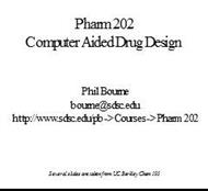 Computer Aided Drug Design powerpoint presentation
