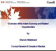 Overview of the Indian Economy and Related Opportunities powerpoint presentation