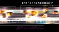 ENTREPRENEURSHIP : unit 1.2 powerpoint presentation